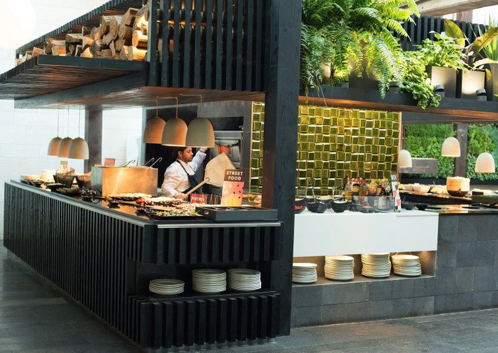 Sens kitchen patio garden salobre hotel resort & serenity maspalomas